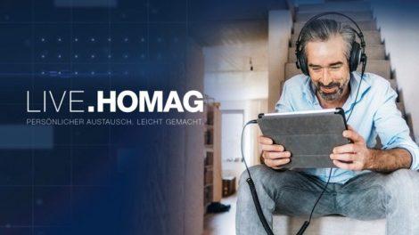 In über 500 Veranstaltungen zeigt Homag über die digitale Plattform »Live.Homag« seine Neuheiten und bietet auch Gelegenheit zum persönlichen Austausch. Vorgestellt werden z. B. ... Foto: Homag AG