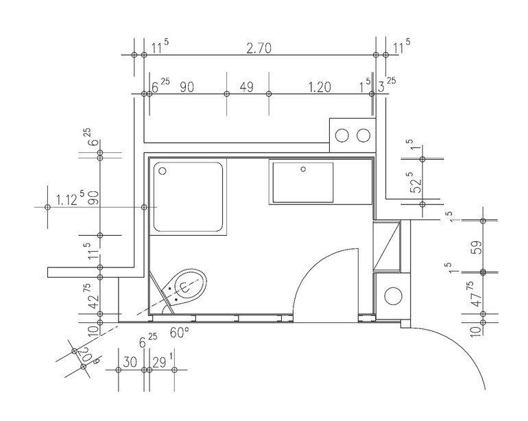 Ein mini bad unterm dach neues bad in altem haus dds for Badezimmer 7 qm