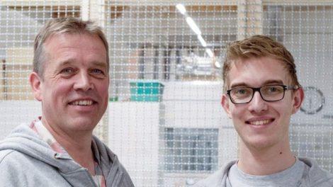 Zwei Tischlermeister, die Tradition und Hightech in Einklang bringen: Gerold Bruns und Sohn Sönke