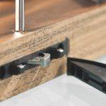 im CNC-Bereich die »Drillteq V-200«, bei der nun auch der Möbelverbinder »Clamex P« von Lamello verfügbar ist, ... Foto: Homag AG