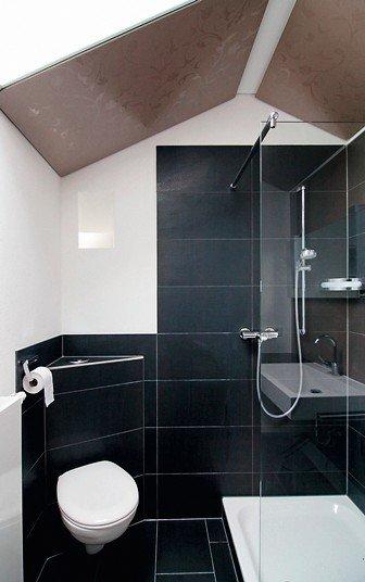 Kleine Bäder Unterm Dach ein mini-bad unterm dach. neues bad in altem haus - dds – das