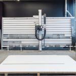 Tischlerei Dennis Lewandowski: vertikale Plattensaege von Format4
