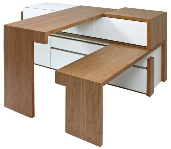 Ein apartes und edel gefertigtes meisterst ck in der for Sideboard tisch