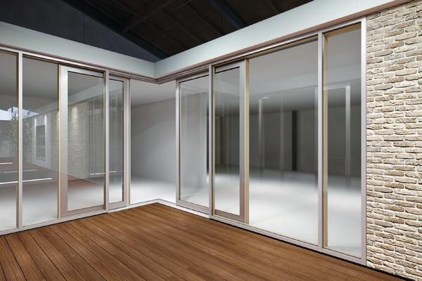 viel glas wenig rahmen dds das magazin f r m bel und ausbau. Black Bedroom Furniture Sets. Home Design Ideas