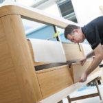 BIM im Innenausbau: Anhand der Pläne werden die Bauteile montiert