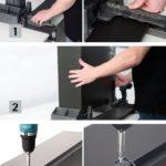 In nur drei Schritten und mit etwas Übung gelingt der Bau eines »AvanTech You«-Schubkastens innerhalb von zwei Minuten. Foto: Hettich Marketing- und Vertriebs GmbH & Co. KG