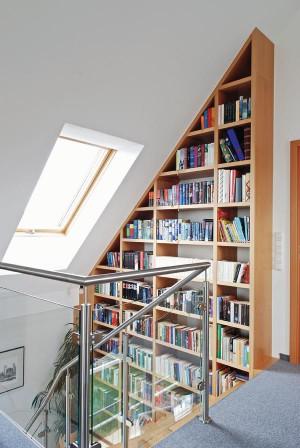 begehbares b cherregal dds das magazin f r m bel und ausbau. Black Bedroom Furniture Sets. Home Design Ideas