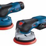12 Volt und 18 Volt: Die Akku-Exzenterschleifer von Bosch decken benachbarte Aufgabenfelder ab Foto: Robert Bosch Power Tools GmbH