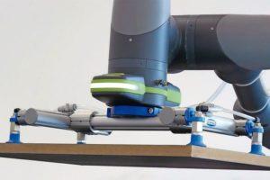 Mit nur vier Werkzeugen zum perfekten Greifer: Anwender können ihre Konfiguration aus Standardkomponenten zusammenstellen Foto: J. Schmalz GmbH