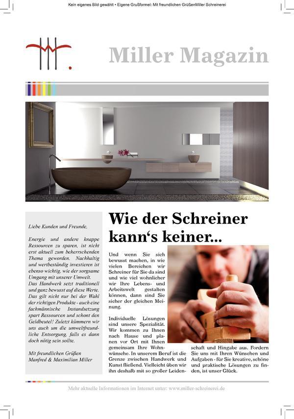 Briefe Vom Platzhirsch Dds Das Magazin Für Möbel Und Ausbau
