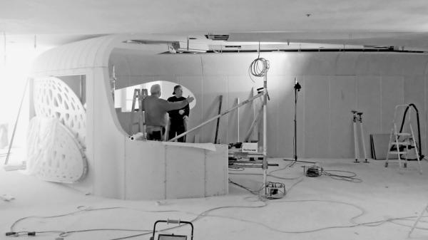 futuristische arbeitswelten dds das magazin f r m bel und ausbau. Black Bedroom Furniture Sets. Home Design Ideas