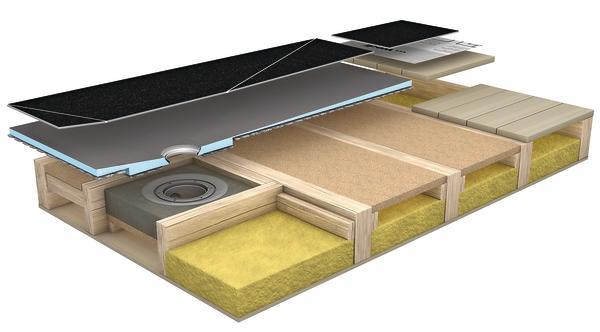 dichte dusche im holzhaus dds das magazin f r m bel und ausbau. Black Bedroom Furniture Sets. Home Design Ideas