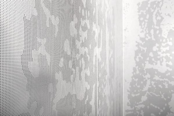 Perforierte akustikplatten als individuell gestaltete design elemente dds das magazin f r - Akustikplatten wand ...
