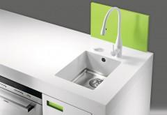 Eine Vielzahl an Spülbeckenvarianten können kundenspezifisch eingebaut werden