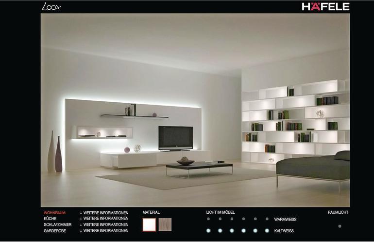 das rechte licht w hlen dds das magazin f r m bel und. Black Bedroom Furniture Sets. Home Design Ideas