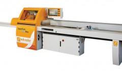 Automatische Schieberkappsäge für die Holzoptimierung und das Auskappen von Fehlern