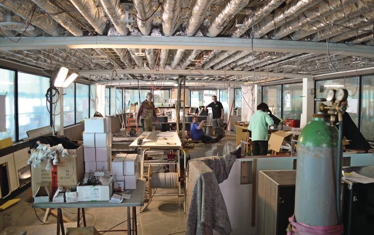 Tischlerei maschinenraum  Alles im Lot auf dem Boot. - dds – Das Magazin für Möbel und Ausbau