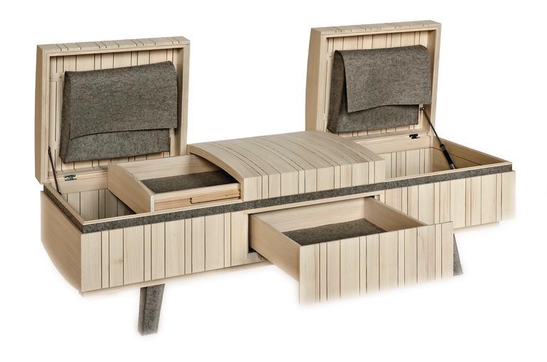 truhe bank oder beides dds das magazin f r m bel und ausbau. Black Bedroom Furniture Sets. Home Design Ideas