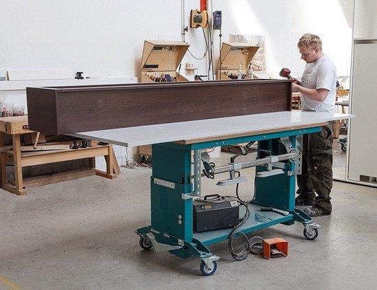 mein arbeitsplatz ist wo ich bin mobile werkbank von reinhold beck maschinenbau dds das. Black Bedroom Furniture Sets. Home Design Ideas