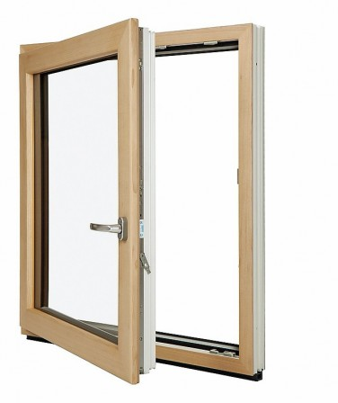 das beste aus drei welten inoutic zeigt ein kunststofffenster mit holz innen und aluminium. Black Bedroom Furniture Sets. Home Design Ideas