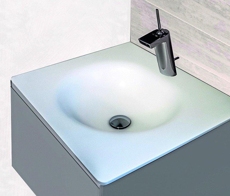 waschtisch mit seitenwahl corian waschtische von pfeiffer. Black Bedroom Furniture Sets. Home Design Ideas