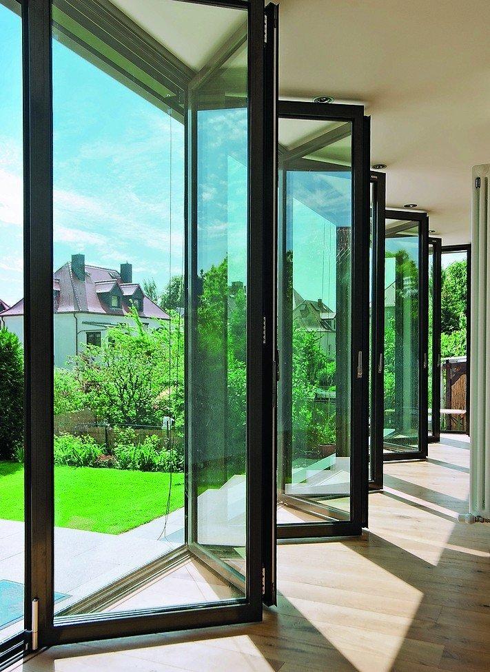 bereit f r viele jahre aluminium faltwand von solarlux besteht dauerbelastungstest dds das. Black Bedroom Furniture Sets. Home Design Ideas