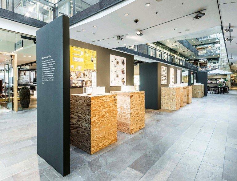 Der Berliner Einrichtungsplaner Minimum hat 14 Architekturbüros eingeladen, Entwürfe für das Wohnen auf kleinstem Raum zu entwickeln.
