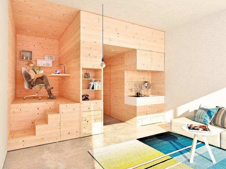 Ideen f r das wohnen auf kleinstem raum for Badezimmer ideen auf kleinstem raum