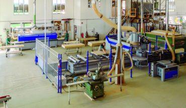 CNC-Fertigung in mittelständischer Tischlerei