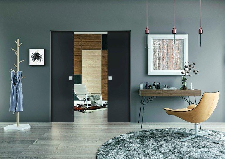 immer in der wand lang wand einbauelemente f r schiebet ren dds das magazin f r m bel und. Black Bedroom Furniture Sets. Home Design Ideas