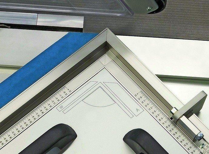 gehrungsschnitte leicht gemacht. Black Bedroom Furniture Sets. Home Design Ideas