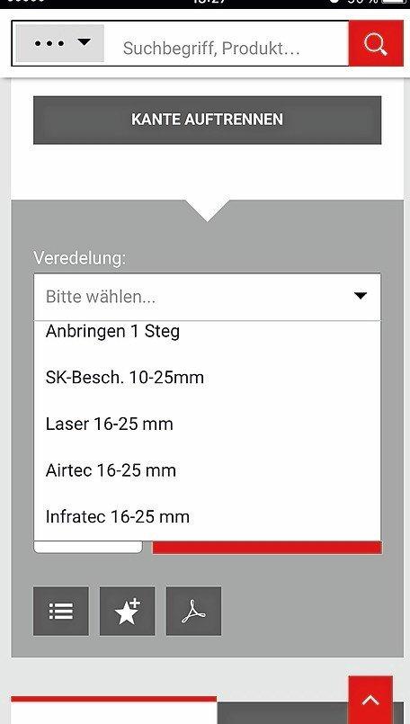 einfach schnell g nstig nullfugenb nder per ostermann app dds das magazin f r m bel und. Black Bedroom Furniture Sets. Home Design Ideas