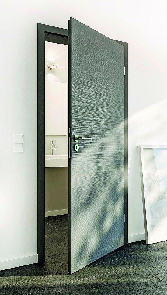 drei mal drei in weiss und grau innent rserie von huga greift aktuellen architekturtrend auf. Black Bedroom Furniture Sets. Home Design Ideas