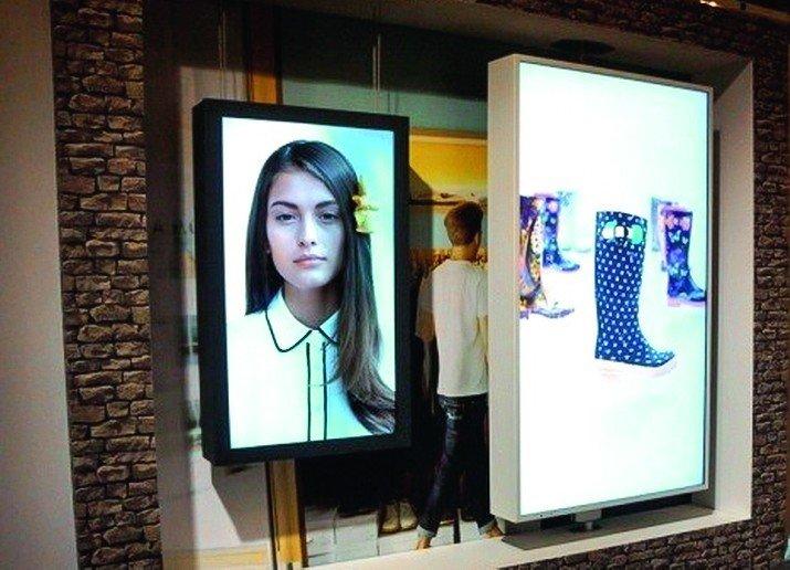 Trend im Ladenbau: «Digital Signage« – digitale Beschilderung