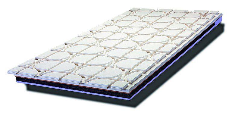 begehbares sandwich boden mit eingebauter vakuum d mmung. Black Bedroom Furniture Sets. Home Design Ideas