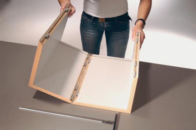 falten und entfalten dds das magazin f r m bel und ausbau. Black Bedroom Furniture Sets. Home Design Ideas