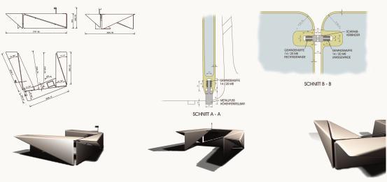 Origami Möbel bohnenstangen und origami dds das magazin für möbel und ausbau