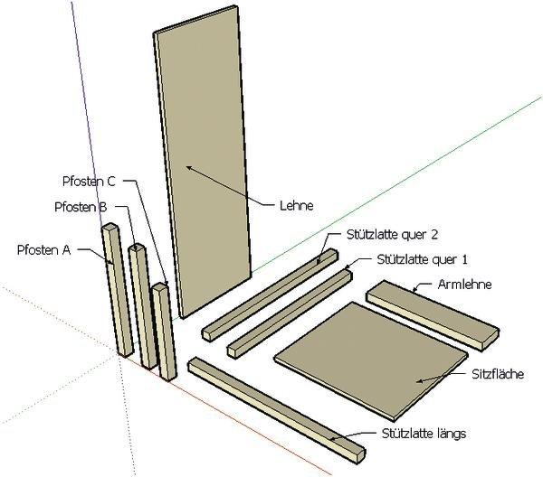 rietveld stuhl zeichnung neuesten design. Black Bedroom Furniture Sets. Home Design Ideas