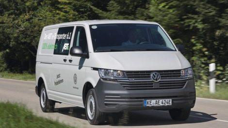 Der Volkswagen T 6.1 als e-Transporter von ABT mit langem Radstand