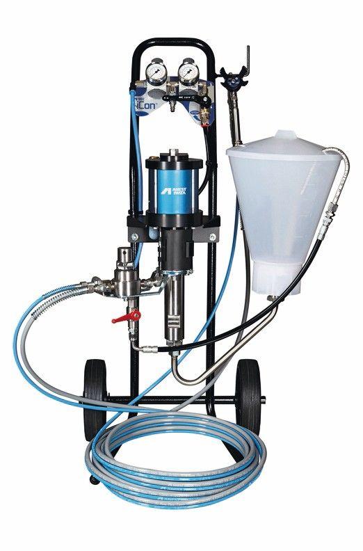 Anest-Iwata-Spritztechnik gibt es für alle Anwendungstypen Foto: Anest Iwata Deutschland GmbH