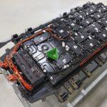 Akku-Pack des Elektrotransporters VW T 6.1 ABT
