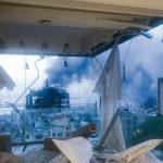 Die extreme Explosionskraft hat Fensterelemente in fast ganz Beirut zerstört Foto: Joseph Hashim