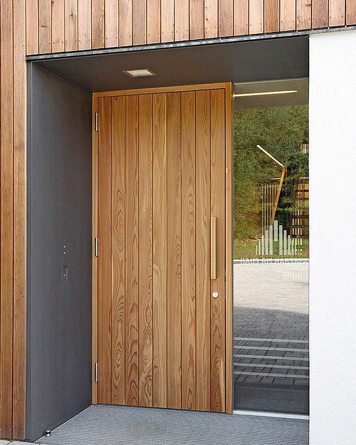 Haustür vertikalschnitt  Jeder vor seiner Tür. Wirkungskraft Haustür - dds – Das Magazin ...