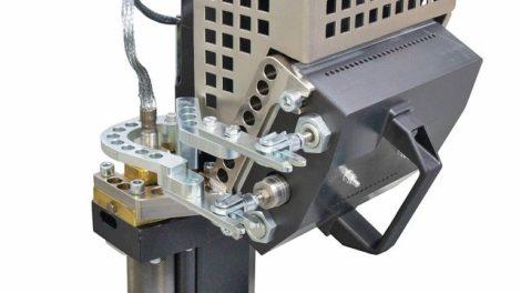 PUR-Bekantungstechnik von Homag: Dieses Aggregat für die Edgeteq S-380 sowie S-500 dosiert die Leimmenge automatisch Foto: Homag Group AG
