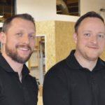 Geschäftsführer Andreas Strebel (l.) und sein Bruder Waldemar arbeiten seit über 13 Jahren zusammen dds-Foto: Hans Graffé, Konradin Medien GmbH