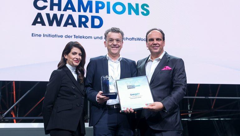 07.11.2018_Koeln_Digital_2018__Digital_Champions_Award_Ehrung_Dickmaenken_GmbH_Freigabe_nur_fuer__redaktionelle_Verwendung_!_Keine_Freigabe_fuer_Werbung_!___