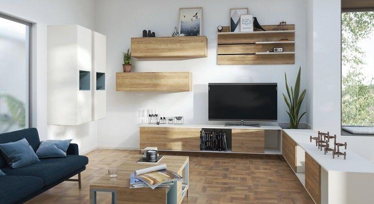 »Colour Match« der farblich aufeinander abgestimmten Dekore von Fußboden und Möbeln Abb.: Egger Holzwerkstoffe GmbH & Co. KG