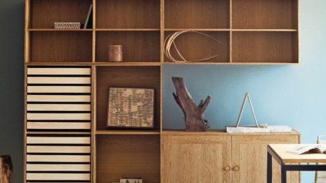Carl Hansen & Søn nimmt das Bookcase System von Preben Fabricius und Jørgen Kastholm in die Kollektion seiner Designklassiker auf. Das 1963 entworfene Möbel zählt zur Dänischen Moderne Foto: Carl Hansen & Son