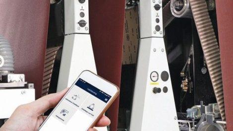 »IntelliSanding« für die »Sandteq«-Schleifmaschine von Homag: Mit digitaler Hilfe lässt sich vieles im Alltag schneller erledigen Foto: Homag Group AG