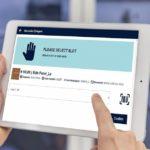 Digitales Werkstattkonzept: In welches Fach im Sortierregal soll das Teil einsortiert werden?